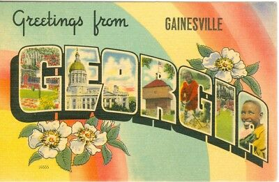 Gainesville GA A Big Letter Greetings from Gainesville for sale  Dayton