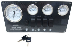 DELUXE Marine Engine Instrument Panel - MM12262
