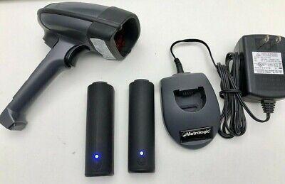 Metrologic Focus Ms1633 Bluetooth Handheld Barcode Wireless Scanner Wcharger