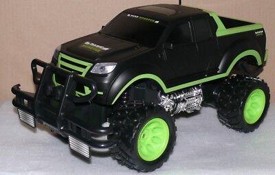 Dark Monster TRUCK Kids Auto RC Big Monster 1:10 Offroad Geländewagen Sch-Grün