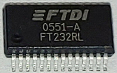 Ft232 Ft232r Ft232rl Ic Usb To Rs232 Rs-232 Serial Uart 28-ssop Ftdi Chip