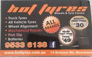 Passenger tyres / 4x4 &SUV tyres Punchbowl Canterbury Area Preview