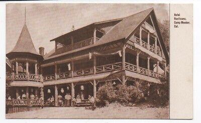 1910 Postcard of the Hotel Rusticana Camp Meeker Russian River CA