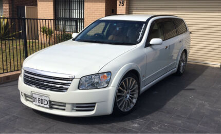 Limited Edition Nissan Stagea