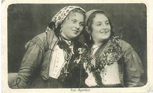 Tipi Agordini - Non viaggiata - Cartolina Belluno Agordo Cordevole anni '10