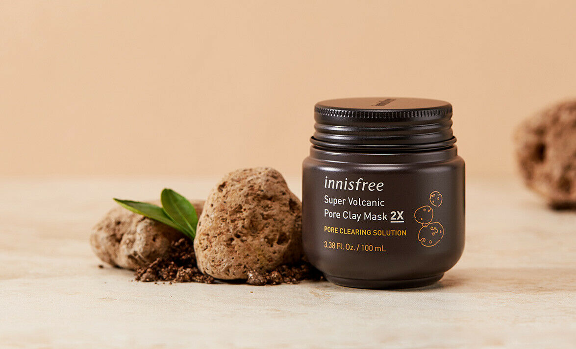 INNISFREE] Super Volcanic Pore Clay Mask 2X - 100ml (2019 Renewal) | eBay