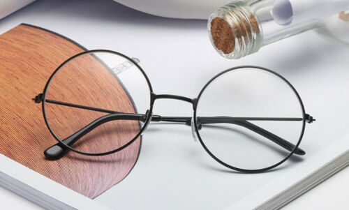 [4 Pairs] Vintage Round Harry Potter Glasses Clear Lens metal frame 4 Color Set