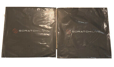 Lot of 2 Serato Scratch Live Control Vinyl Lp SCV 12002 DJ Rane new/sealed Serato Scratch Vinyl