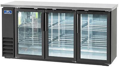 Arctic Air Abb72g 72 3 Glass Door Back Bar Cooler