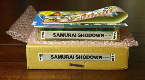 Samurai Shodown/Spirits 1 US English MVS Kit •Neo Geo JAMMA Arcade System • SNK
