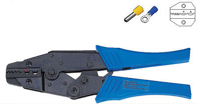 Insulated Terminals And Cable End-sleeves Plier Crimper 0.5-2.5mm2 Awg 20-14