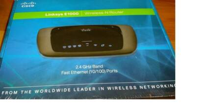 Cisco Linksys E1000 Wireless Router BNIB Bindoon Chittering Area Preview
