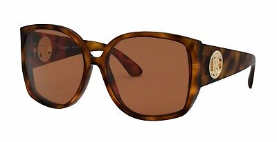 Burberry KINGDOM BE 4290 Matte Light Havana/Brown (3382/3) Sunglasses Burberry Oversize Round Sunglasses