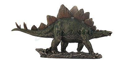 Prehistoric Stegosaurus Statue Dinosaur Sculpture Jurassic World Figure  Unique