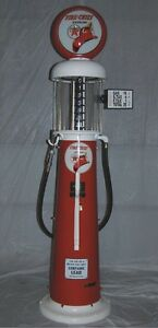 Wanted Vintage Clear Vision Gas Pump Maximum Height 10'4 Cambridge Kitchener Area image 1