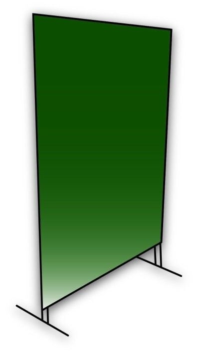 Coplay-Norstar Welding Screen with frame kit - Green  6