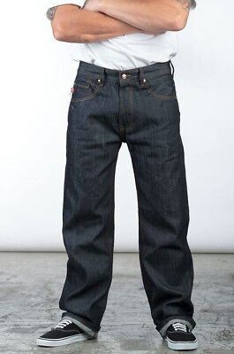 Lowrider Clothing Boulevard Indigo Jean Old School Authentic Relaxed Jeans Fit  (New School Clothing)