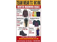 Winter Warming Deals - While Stocks last