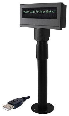 KUNDENANZEIGE KUNDENDISPLAY KASSENDISPLAY BA-63 USB WINCOR NIXDORF