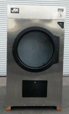 Adc Single Pocket Dryer Coin Op 75 Lbs 1 Ph 120v Serial 495199 Et Refurb.
