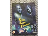 CSI DVD Collections Seasons 1, 2 and 4.