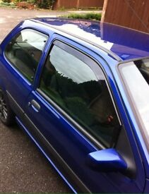Fiesta 96-02 Wind Deflectors 3 Door