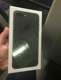 Brand new iPhone 7+ PLUS black