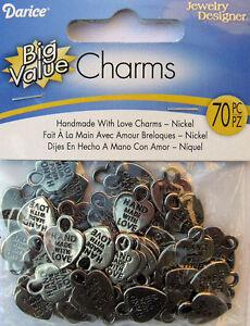 HANDMADE-WITH-LOVE-Charm-Tag-HEART-Nickel-Qty-70-16mm