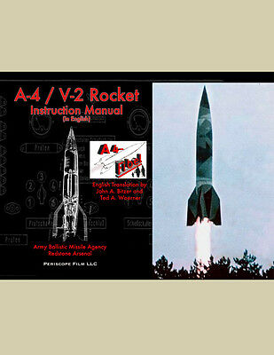 WWII A-4 / V-2 ROCKET MANUAL (in ENGLISH)      DECLASSIFIED Secret Weapon BOOK