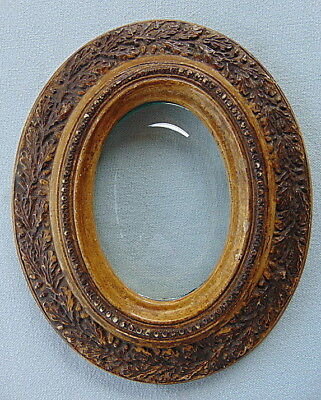 Antique  gold/brown colored oval frame – 2nd half 19th century