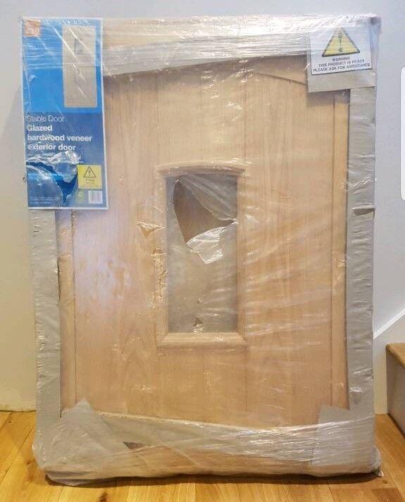 Veneer Oak Stable Door Exterior....b&q