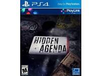 Hidden Agenda Ps4 NEW/UNSEALED