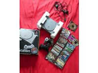 Rare PlayStation 1 Audiophile scph-1002b Bundle