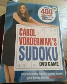 Sudoku DVD game -New