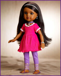 NEW Doll; Nahji from India
