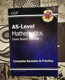 AS Level Mathematics revision book