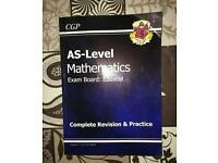 AS Level Mathematics revision book
