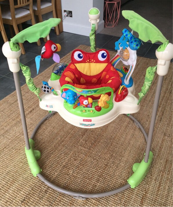 Fisher price jumperoo in corstorphine edinburgh gumtree for Door jumperoo