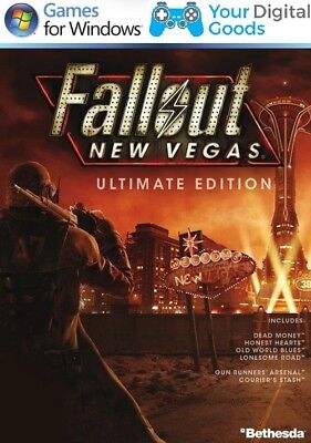 Fallout: New Vegas Ultimate Edition DLC INCLUDED PC [BRAND NEW GLOBAL STEAM KEY] for sale  Shipping to Nigeria