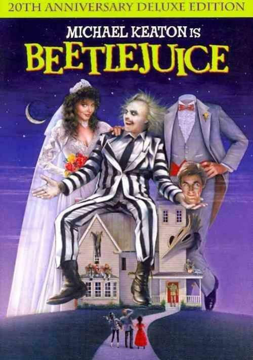 BEETLEJUICE NEW DVD