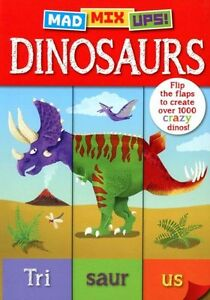 Mad Mix Ups! Dinosaurs,Arcturus Publishing,Good Book mon0000102178