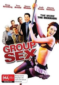 Group Sex (DVD, 2011) NEW SEALED