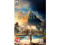 Brand New ASSASSIN'S CREED ORIGINS - PC Redemption Code UPLAY CODE to Download full game