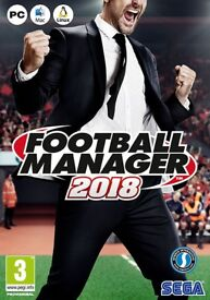 Football Manager 2018 --Sealed--