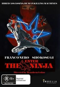 Enter The Ninja (1981) Franco Nero - NEW DVD - Region 4