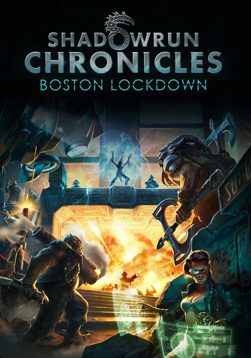 Computer Games - Shadowrun Chronicles Boston Lockdown PC Games Windows 10 8 7 XP Computer Games