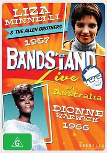 BANDSTAND LIVE: Liza Minnelli / The Allen Brothers and Dionne Warwick(DVD) NEW