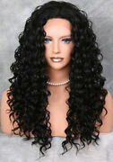 Thick Long Black Wig