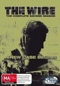 The-Wire-Season-2-DVD-2006-5-Disc-Set-FREE-POSTAGE