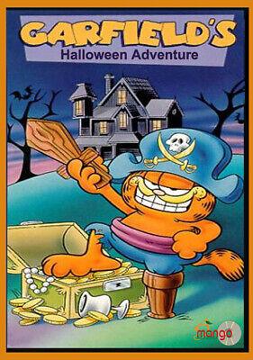 Garfield Halloween Movie (Garfield's Halloween Adventure (1985) DVD scary horror cartoon Garfield kids)